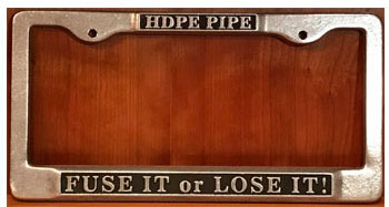 Fuse it or Lose it License Plate Holder
